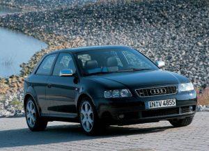Une Audi S3 8L, la première génération (1999-2003)