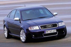 Une Audi RS6 C5 de 3/4 face